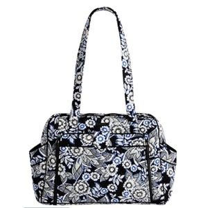 Vera Bradley Stroll Around Baby Bag, Snow Lotus